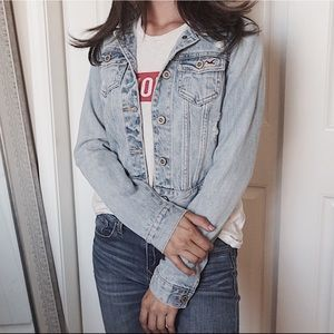 Hollister 100% Cotton Jean Jacket